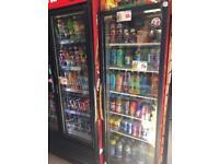 Shelvings/gondols/pegings/slate boards/dairy cabinets/drinks chillers/till etc