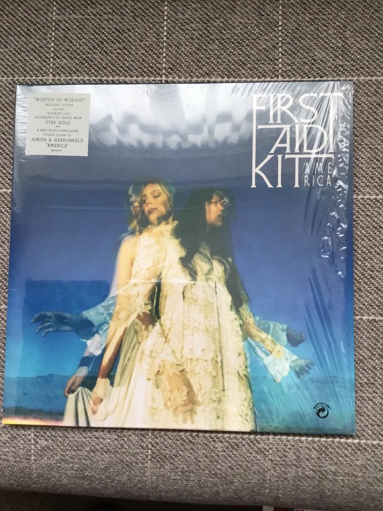 America First Aid Kit 10 inch vinyl