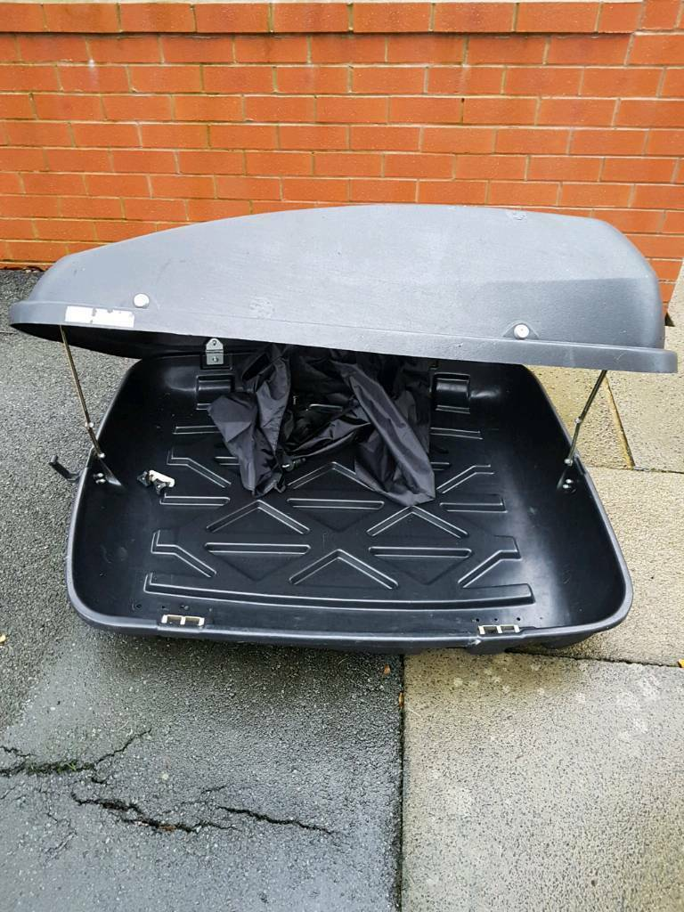 halfords roof box in bury manchester gumtree. Black Bedroom Furniture Sets. Home Design Ideas