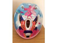 Toddler/infant bike/scooter helmet