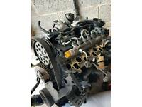 VW GOLF PASSAT AUDI A3 170BHP CFG ENGINE WITH TURBO, HIGH PRESSURE FUEL PUMP, 4X NEW BOSCH INJECTORS