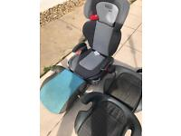 car seats and booster