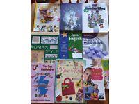 Educational books and craft books junior / primary