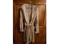Ladies Winter Dressing Gown Size small