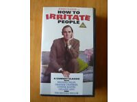 John Cleese on How To Irritate People VHS Video tape