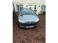 02 1.1l peugeout 206 5 door drives great