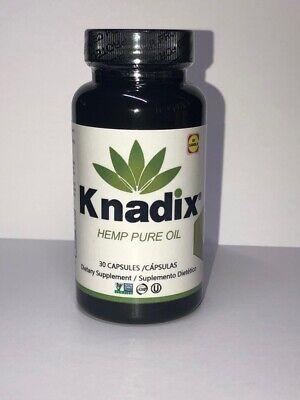Knadix Suplemento Alimenticio Diario Para Aumento De Energia Pure Hem Oil
