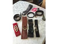 Box Of 9 Belts
