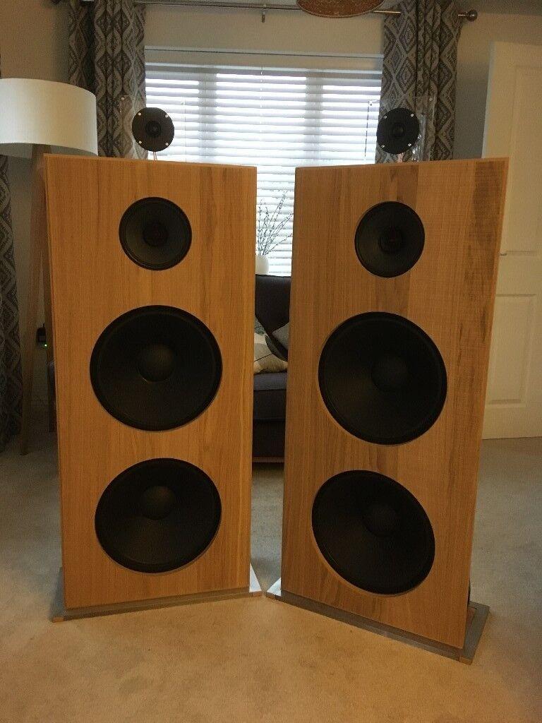 Stereo Pair Of Diy Open Baffle Speakers In Keynsham
