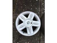 Renault Clio alloy wheels mk2 2001-2005