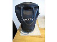 Leather imitation Maxfly Golf Ball Bag