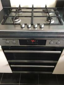 AEG gas hob and electric oven