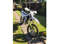 Husqvarna TX 125 2018 fully road legal not an EXC