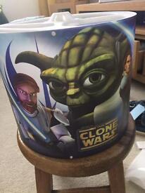 Kids light shade Star Wars clone wars