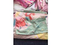 Toddler cot bed duvet sets x 3