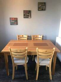 Buick table and 4 chairs