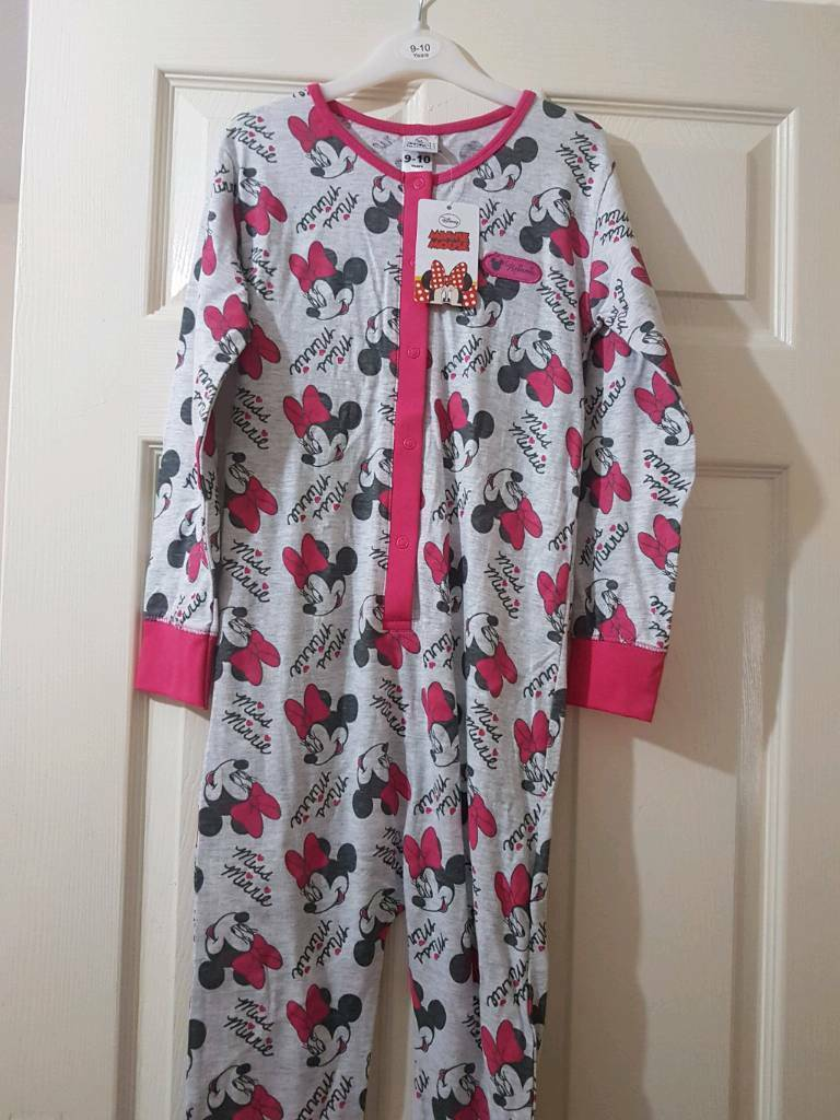 Brand new Minnie Mouse onsie age 9-10