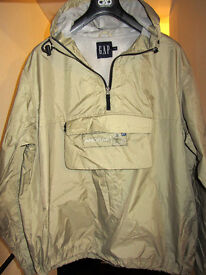 Brand New Water-Resistant GAP 'Anorak In A Sack' With Self-Storage bag. Size: Large.
