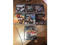 7 Assorted PS3 games for Xmas