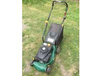 """1st pull starter!!! 16"""" lawnmower with collector bag 3.5hp honda clone engine free local delivery"""