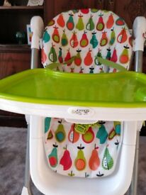 Mamas & Papas Pesto Pear Highchair
