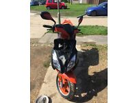 125cc unregistered moped
