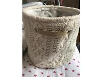 Lovely holly willoughby storage basket