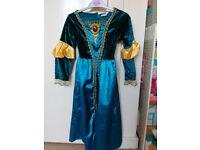 Girls disney brave merida dressing up dress