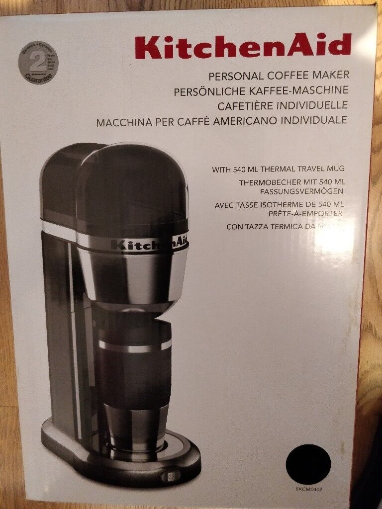 nd New *Kitchen Aid Personal Coffee Maker* Sealed £65 | in ... Kitchen Aid Coffee Makers on spacemaker coffee maker, black & decker coffee maker, 4 cup coffee makers, blue coffee maker, 12 cup coffee maker, mr coffee maker, capresso coffee maker, viking coffee maker, cuisinart coffee maker, 60 cup coffee maker, vacuum coffee maker, braun coffee maker, under cabinet coffee maker, thermal coffee maker, personal coffee maker, target red coffee maker, nespresso coffee maker, thermal carafe coffee maker, black and decker coffee maker, starbucks coffee maker, coffee maker grinder, grind and brew coffee makers, bunn coffee maker, farberware coffee maker, 4 cup coffee maker, automatic coffee machines, dual coffee maker, 1 cup coffee maker, 14 cup coffee maker,