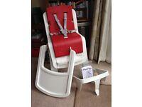 Nuna Red Highchair