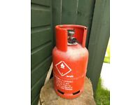 1 x 3/4 Full 6kg Propane gas bottle