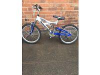 """Reebok 24"""" boys suspension bike"""