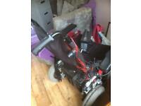 Electric wheelchair it works need repair need collect
