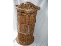 Wicker Linen Basket
