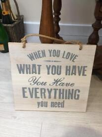 Various Homewares - Canvases, Lampshades etc