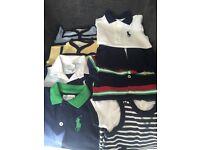 Boys Ralph lauren rompers suits 0-3 months
