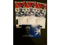 **FaceValue** 3 x Arizona Cardinals Vs. LA Rams NFL tickets - 22nd Oct 2017 - Twickenham