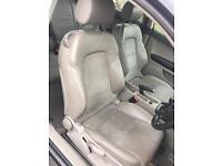 Audi A3 8P 2004 half leather seats & door cards 3 door