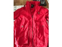Design Lyle & Scott Red Rain Jacket