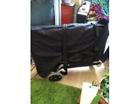 Used massage table with trolley and cover