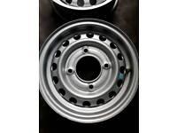 Brand New Steel Wheels for Caravan or Trailer 4,1/2 J×13 H2