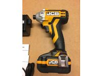 JCB Impact Driver With 2x 20V 3Ah Batteries