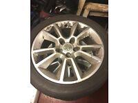 Vauxhall Alloys + Tyres
