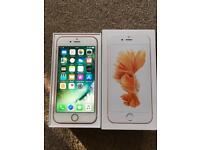 Apple iPhone 6s 64GB Rose Gold Unlocked Sim Free - Mint condition