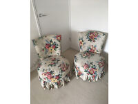 Boudoir Chairs, £15 each. Ideal for re-upholstering for a dressing table or child's room