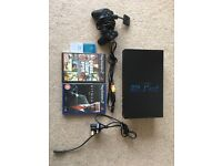 PS2 with 2 games (Hitman and GTA), controller and 2 memory cards