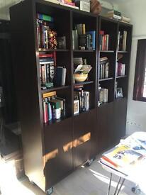 Custom made bookshelves, in good condition