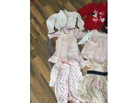 Girls clothes bundle newborn and upto 3 months