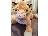 Large Disney lion king Simba.