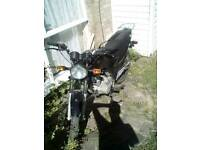 Geared xs 125 super solid, reliable and quick too !!!!